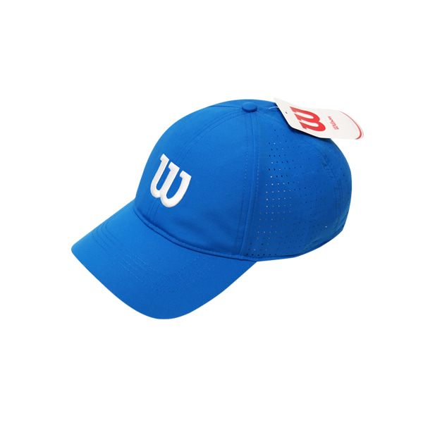 ULTRALIGHT TENNIS CAP 윌슨모자 IMPERIAL BLUE