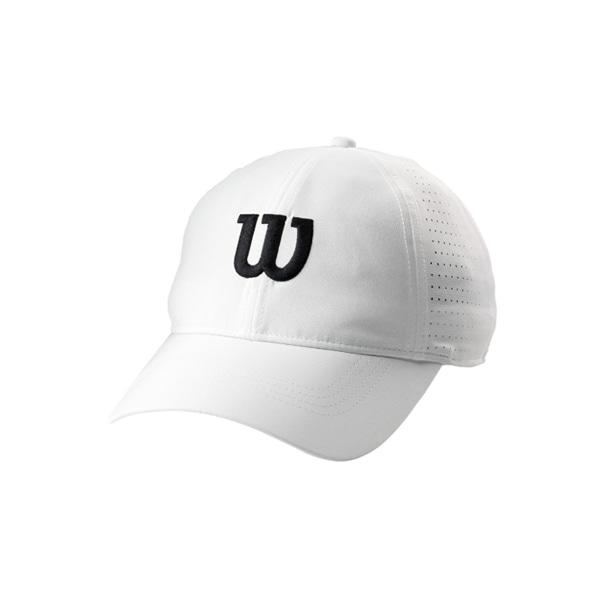 ULTRALIGHT TENNIS CAP 윌슨모자 WHITE
