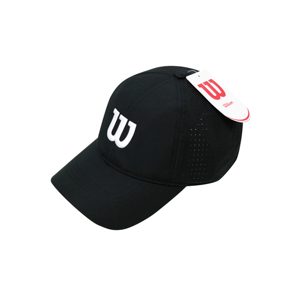 ULTRALIGHT TENNIS CAP 윌슨모자 BLACK